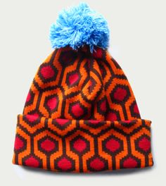 Kubrickian: Winter wool cap inspired by carpet in 'The Shining'