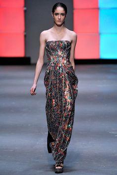 Marios Schwab Fall 2009 Ready-to-Wear Fashion Show - Amanda Laine