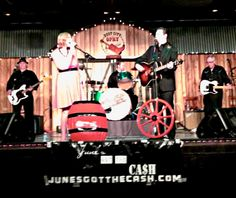 Johnny Cash & June Carter Tribute Show- check out the best in live country music entertainment www.junesgotthecash.com