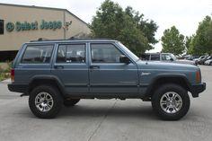 1998 Gun Metal Blue Jeep Cherokee Sport 4x4 http://www.selectjeeps.com/inventory/view/8388248/1998-Jeep-Cherokee-4dr-Sport-4WD-League-City-TX