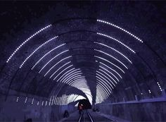 Few art experiences short of virtual reality are quite as immersive as entering a tunnel, literally surrounding yourself with an artist's vision, blocking out nearly all sensory input not rel…