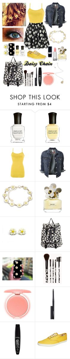 """~Daisy Chain~"" by izzypandagurl ❤ liked on Polyvore featuring Deborah Lippmann, Alex Monroe, BKE, Accessorize, Marc Jacobs, Charlotte Russe, Forever 21, Stila, MAC Cosmetics and Rimmel"