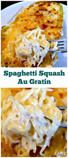 Keto Spaghetti Squash Recipes With Hamburger.Spaghetti Squash Boats With Spicy Sausage Eat Yourself . Spaghetti Squash Au Gratin Easy To Make Meal That Is . Home and Family Ketogenic Recipes, Diet Recipes, Cooking Recipes, Ketogenic Diet, Easy Recipes, Recipies, Low Carb Vegetarian Recipes, Vegan Recipes, Recipes Dinner