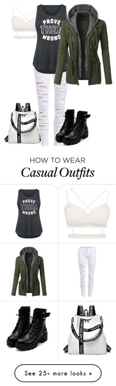 """""""if you're listening to this {watch me until the end}"""" by jinsxuls on Polyvore featuring LE3NO and plus size clothing"""