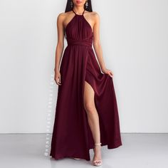 Loving you is easy-Maxi-dress - wine - dress Source by MissKristja de soirée Pretty Prom Dresses, Homecoming Dresses, Cute Dresses, Beautiful Dresses, Burgundy Bridesmaid Dresses Cheap, Gala Dresses, Evening Dresses, Formal Dresses, Casual Dresses