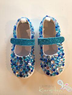 Frozen Shoes Disney Shoes Frozen inspired Baby by SimplyKiersten, $24.95