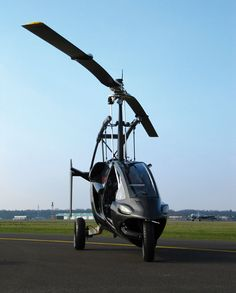 A flying Car  The PAL-V One is a 2 seat hybrid car and gyroplane. Choose to fly or drive!