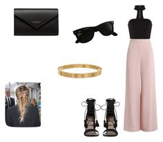"""""""outfit #170"""" by anaguilhermep98 on Polyvore featuring Zimmermann, Balenciaga, Ray-Ban and Cartier"""