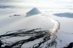 The Arctic is a land of vast expanses of white wilderness, and not a soul in sight.