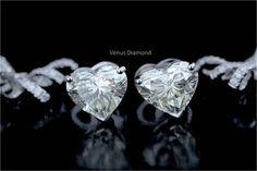Solitaire Earrings, Diamond Earrings, Diamond Heart, Heart Ring, Diamond Jewelry, Brooch, Diamond Jewellery, Brooches, Heart Rings
