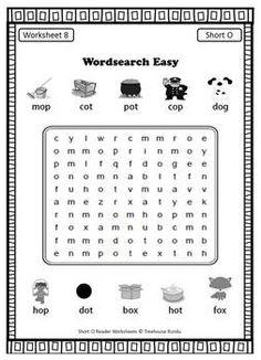 Short O Vowel Reader & Worksheets & Flashcards: Bob the Dog