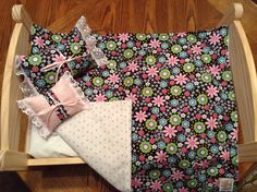 A personal favorite from my Etsy shop https://www.etsy.com/listing/221984168/american-girl-type-doll-quiltblanket