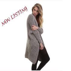 Soft Rose Fuzzy Cardigan Sweater This is the softest cardigan you have ever felt. It features front pockets, and dolman style sleeves. Fabric has great stretch. Perfect for Winter over your favorite leggings, jeans, or dress. An absolutely stylish and stunning wardrobe addition. TRADESPAYPAL Tea n Cup Sweaters Cardigans