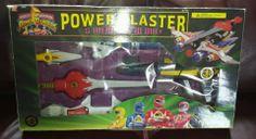 MMPR Mighty Morphin' Power Rangers Deluxe Power Blaster Set Complete W/ Box MINT