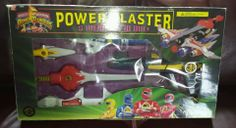 MMPR Mighty Morphin' Power Rangers Deluxe Power Blaster Set Complete W/ Box MINT