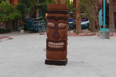 Tiki God Statue 1 #bydzign #props #vegasdecor #décor #partyrentals For more info/ideas visit www.by-dzign.com