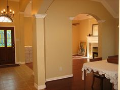 Warm Neutral Paint Colors | The Walls Were Freshly Painted In A Warm Neutral  Color You