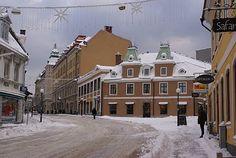 Ronnebygatan - Borgmästaregatan, Karlskrona, Sweden