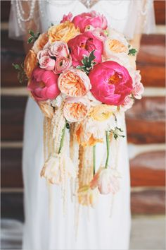 Quite possibly the more gorgeous peony bouquet! #weddingchicks Captured By: The Leekers http://www.weddingchicks.com/2014/07/11/wedding-bouquet/