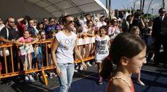 #sport - #salute - Tania Cagnotto alla terza tappa di OVS Kids Active Camp, Roma, 05 ottobre