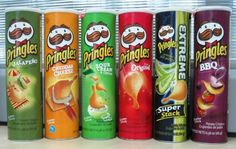 Pringles, made right here in Jackson, Tennessee. My dad helped build the manufacturing plant. Potato Chip Flavors, Potato Chips, Bbq Potatoes, Creamed Onions, Pringles Can, Sounds Good To Me, Fanta Can, Lebanese Recipes, White Meat