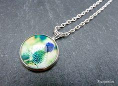 CollierKette / Halskette Herbstmorgen von Feenperlen auf DaWanda.com
