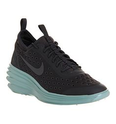 Nike WOMENS LUNAR ELITE SKY HI Anthracite Sky Blue - Hers trainers