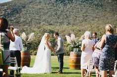 LETTUCE & CO - STYLE. EAT. PLAY 'matt + emma - wedding in at the mountains'. mountain wedding ceremony. country wedding. outdoor wedding ceremony. concept, design and styling by lettuce & co