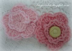 Lacy Crochet: Free Crochet Flower Patterns