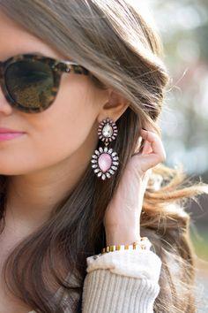 Southern Curls & Pearls: Draped Cardigan