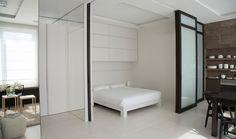 Salon i sypialnia w jednym