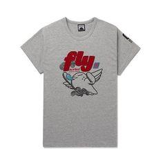 Today's Hot Pick :灰色℃ 可爱卡通人羽翼短袖T http://fashionstylep.com/P0000HNY/goofa/out GOOGIMS带你体验卡通印花的新鲜感! 个性十足的画风,活泼夏季流行点。 背后大面积时尚印花,与众不同。 拥有羽翼的力量,飞翔起来吧! -圆领 -短袖 -卡通人