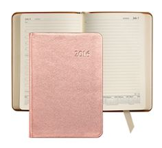 metallic pink 2016 planner