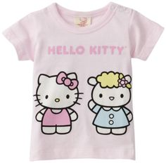144c84319 Hello Kitty Organics Baby-Girls Infant Fifi Short Sleeve Snap Tee, Pink,  3-6 Months 100% Organic Cotton. Shoulder snap closure. #HelloKitty #Apparel