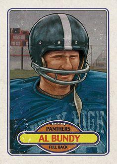 """Cuyler Smith """"22 - Al Bundy"""" Trading Card"""