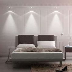 Different shades of grey bedroom set