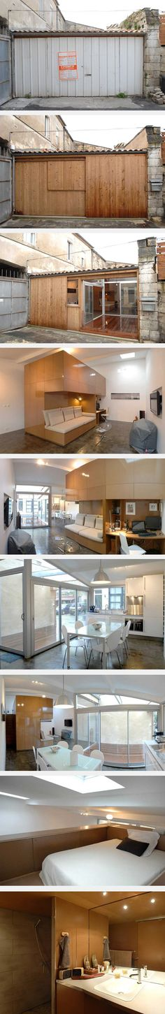 Garage Converted Into Awesome Apartment