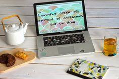 Comment créer les boutons ou onglets catégories et réseaux sociaux pour votre blog ? - Slanelle Style - Blog mode, voyage, musique, beauté - Paris