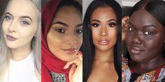 What ALL 40 Shades of Rihanna's Fenty Beauty Foundation Really Look Like