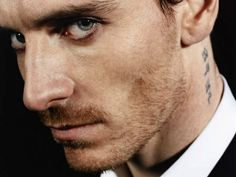 A tattoed Michael Fassbender makes my day.