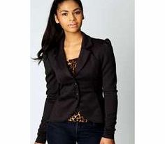boohoo Serena Fitted Scuba Blazer - black azz64230 A gorgeous shape - Ideal for dressing-up a laidback look or layering over a going- out ensemble for a cool dose of understated chic. http://www.comparestoreprices.co.uk/womens-clothes/boohoo-serena-fitted-scuba-blazer--black-azz64230.asp