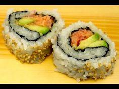 California Maki Rolls Recipe - Make Your Own Homemade California Rolls! - YouTube