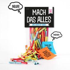 50 Lose Mach Das Alles online kaufen ➜ Bestellen Sie 50 Lose Mach Das Alles für nur 11,95€ im design3000.de Online Shop - versandkostenfreie Lieferung ab €!