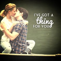 soitsbeensaid.com quoted Quotes Quotation Quotations Quote I've got a thing for you Love Couple Kiss