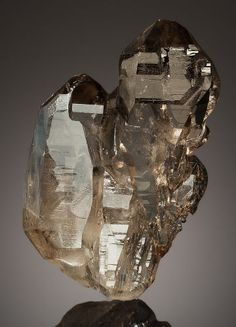 Minerals:Cabinet Specimens, SMOKY QUARTZ. Minas Gerais, Brazil. ...