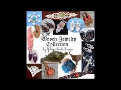 Woven Jewelry Collection of Machine Embroidery Designs - $24.99 : Golden Needle Designs, Great machine embroidery designs