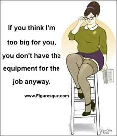 Plus size women pictures and quotes | Via Maryann Papi
