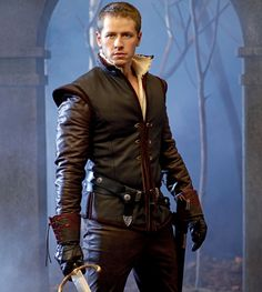 Joshua Dallas. Prince Charming on Once Upon A Time. I don't think a part ever suited him more ;)