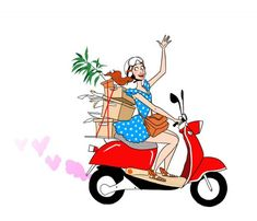 illustration margaux motin scooter rouge.jpg - Margaux MOTIN | Virginie