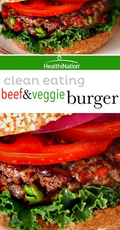 Add some veggies into your burger patty! Watch how here: http://bit.ly ...